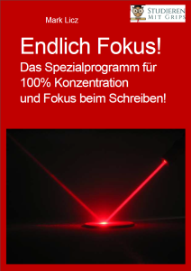 Endlich Fokus Cover Ebook - Mark Licz